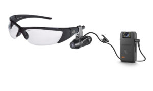 Venture bodycam with clip on glasses attachment